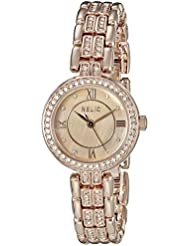 Relic Womens ZR34341 Haven Analog Display Analog Quartz Rose Gold Watch