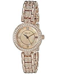 Relic Women's ZR34341 Haven Analog Display Analog Quartz Rose Gold Watch