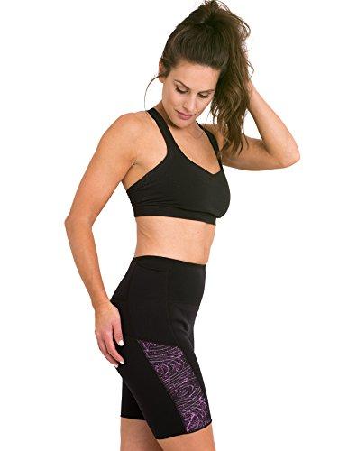 Delfin Spa Women's Heat Maximizing Neoprene Workout Shorts
