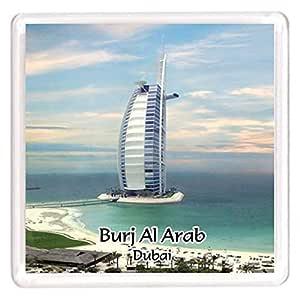 Ajooba Dubai Souvenir Magnet Burj Al Arab 0058