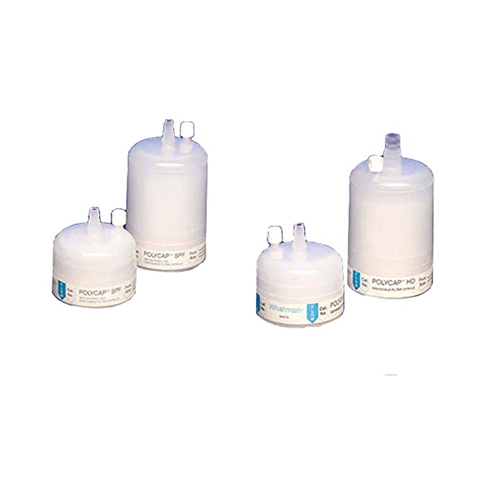 0.2 Micron Whatman 6705-3602 Polycap AS 36 Nylon Membrane Capsule Filter with SB Inlet and Outlet 60 psi Maximum Pressure