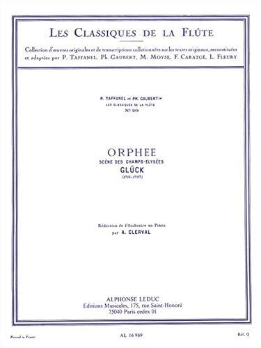 Champ Flute - Christoph Willibald Von Gluck: Scene des Champs Elysees (Classiques No.20) (Flûte & Piano)