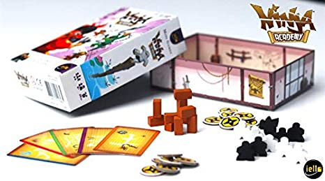 Amazon.com: IELLO Ninja Academy Juego: Toys & Games