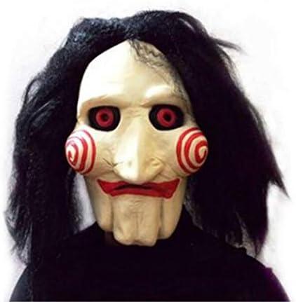 WYDM Halloween Carnival/Chainsaw Fright Latex Peluca máscara de la Cabeza: Amazon.es: Hogar