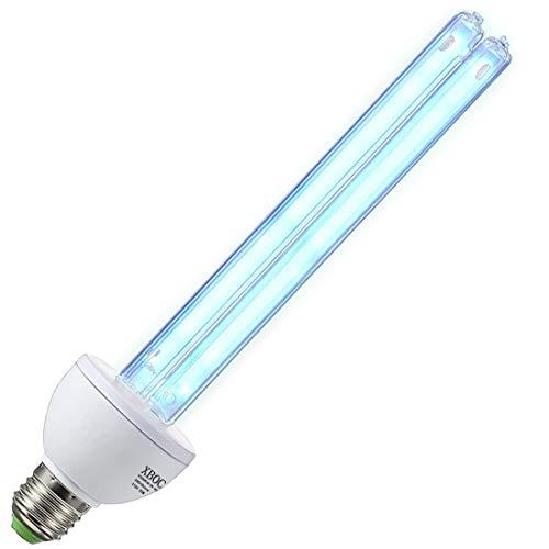 U/V/C Light Bulb with Ozone 25w Lamp, 185nm