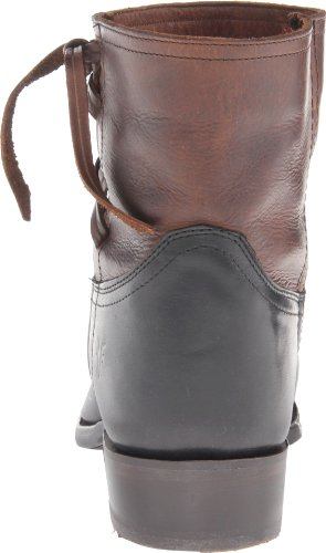 Frye Womens Billy Kruissteek Korte Laars Donkerbruin