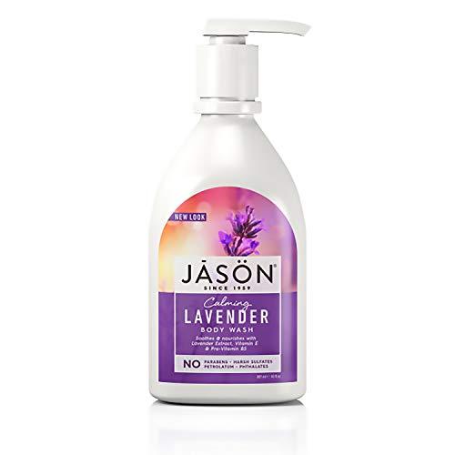 Jason Natural Body Wash & Shower Gel, Calming Lavender, 30 Oz