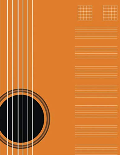 - Guitar Tab Music Book: Tablature Paper Notebook for Music Notes (Guitar Manuscript Paper)