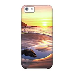 Perfect Tpu Beach Phone Case Cover Skin For Iphone 5c Protective Case