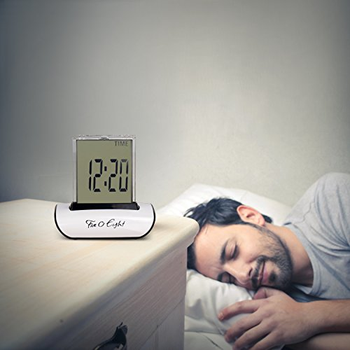 bedroom alarm clock. FIVE0EIGHT Digital Alarm Clock Small Table Desk with 3  LCD Display and 7