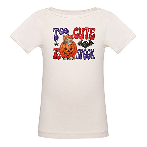 Royal Lion Organic Baby T-Shirt Halloween Pumpkin Kitten
