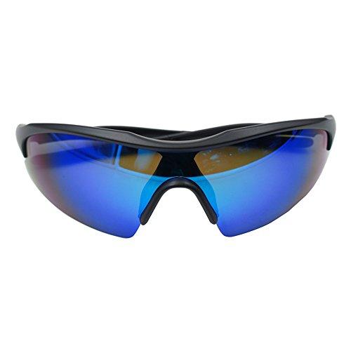 outtag Lunettes de soleil Lunettes de vélo Protection UV400verres Lunettes de sport Ultra-Léger Lunettes de cyclisme pour homme et femme 811H1H
