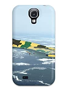 DanMarin Fashion Protective Jet Fighter Case Cover For Galaxy S4