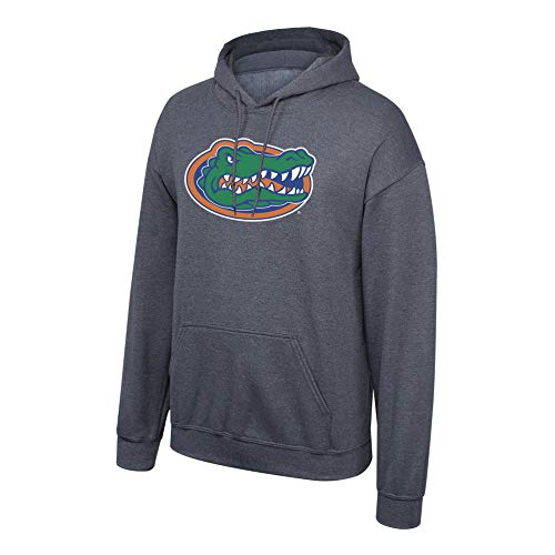 Elite Fan Shop NCAA Men's Florida Gators Hoodie Sweatshirt Dark Heather Icon Florida Gators Dark Heather Medium