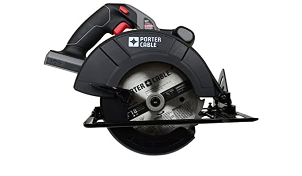 Porter Cable Pc186cs 18 Volt Cordless 6 1 2 Inch Circular Saw Bare Tool Tool Only No Battery By Porter Cable Amazon Com