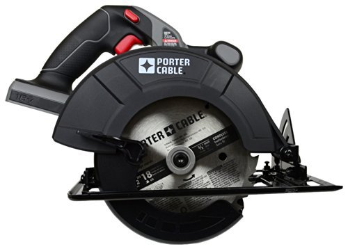PORTER-CABLE PC186CS 18-Volt Cordless 6-1/2-Inch Circular-Saw Bare-Tool (Tool Only, No Battery) by PORTER-CABLE