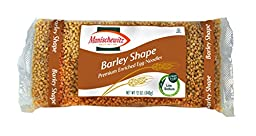 MANISCHEWITZ Barley Egg Noodles, 12-Ounce Bags (Pack of 12)