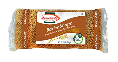 (MANISCHEWITZ Barley Egg Noodles, 12-Ounce Bags (Pack of 12))