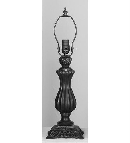 13.5 in. Neoclassical Vase Table Lamp Base - Neoclassical Vase Base