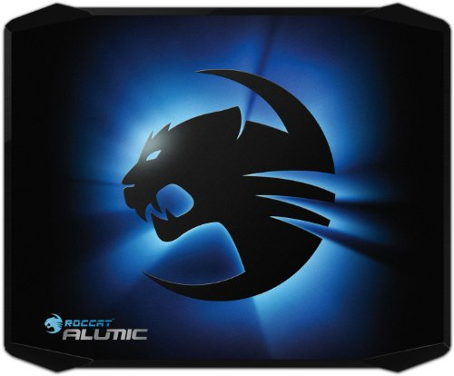 41nppKhzF1L - ROCCAT ALUMIC Double-Sided Gaming Mousepad, Black