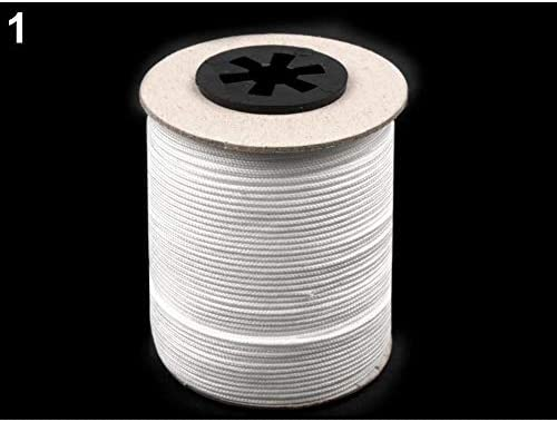 Twisted Cords And Blinds Strings Haberdashery 100m Hite Drapery Window Blind Cord//Beading String /Ø1.4mm
