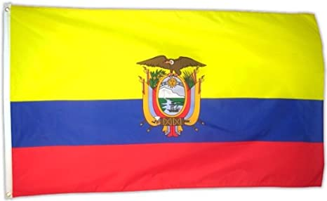 Fahne Flaggen ECUADOR MIT WAPPEN 150x90cm