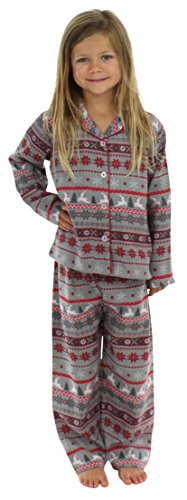 d26cd95b8b SleepytimePjs Kids Button Down Top Pajama Set Nordic-5 available in ...