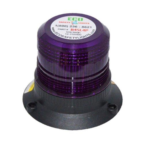 B45L4PAC 85-265V AC LED EMERGENCY WARNING SAFETY LIGHT MEDIUM BEACON STROBE EFFECT 110V 120V 220V 240V ()