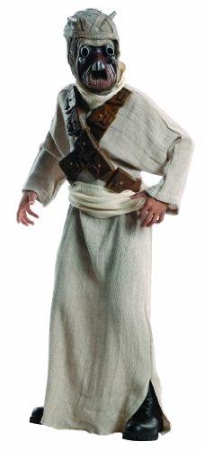 [Star Wars Deluxe Tuskan Raider Costume, Large] (Haloween Adult Costumes)