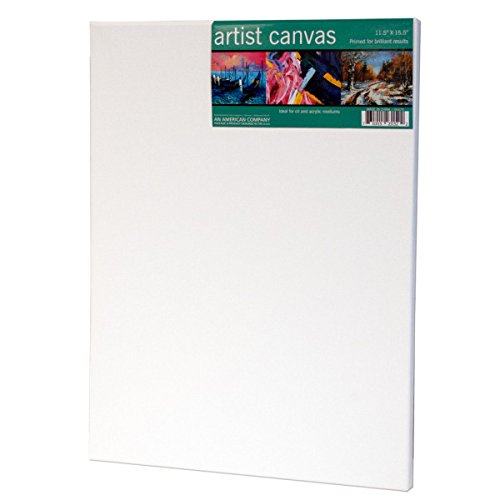 Bulk Buys Medium Artist Canvas on Wooden Frame - Pack of 48 by bulk buys