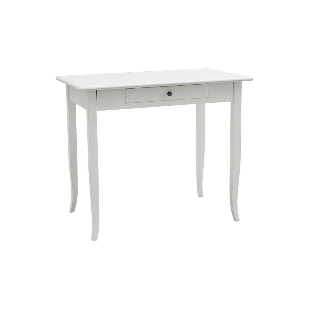 Pieffe Mobili AM5270190 Scrittoio, Legno, Bianco, 90 x 50 x 78 cm