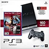Sony Playstation 3 Slim (160 Gb) Black