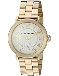 Marc Jacobs Womens Riley Gold-Tone Watch - MJ3470