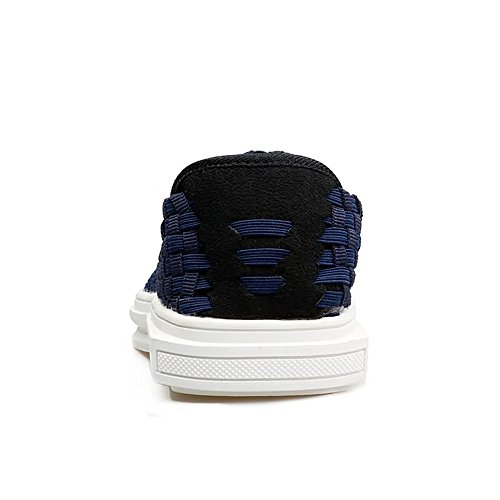 Scuro Dimensione uomo Blu scuro Mocassino 41 EU Lattice shoes da Blu Loafer Color Xiazhi Grid qgH6a6