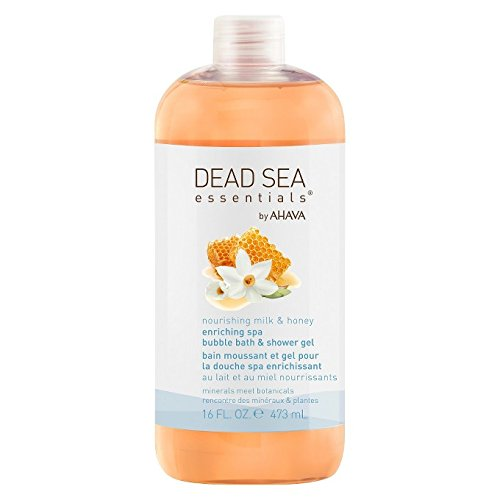 Ahava Gel Cleanser (Dead Sea Essentials by AHAVA Nourishing Milk & Honey Spa Bubble Bath & Shower Gel, 16)