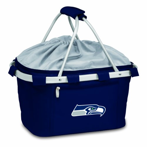PICNIC TIME NFL Seattle Seahawks Metro Insulated Basket