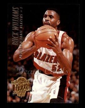 04f404302 1994 Fleer Ultra   163 Buck Williams Portland Trail Blazers (Basketball Card)  Dean s Cards
