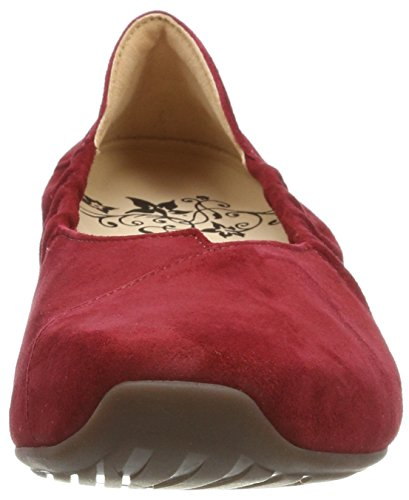 Closed WoMen Grey Toe Gaudi Think 282175 Ballet Flats Red qtOzOw