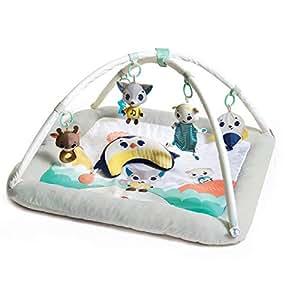 Tiny Love Plush Gymini Infant Activity Play Mat, Polar Wonders