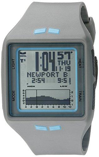Vestal Unisex BRG031 Brig Digital Gray Surf Watch