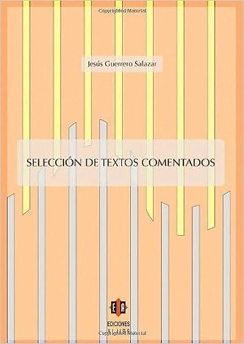 Libros en línea descargables gratis Selección De Textos Comentados MOBI