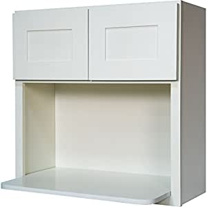 Amazon.com: Everyday Cabinets 30 Inch Microwave Wall ...