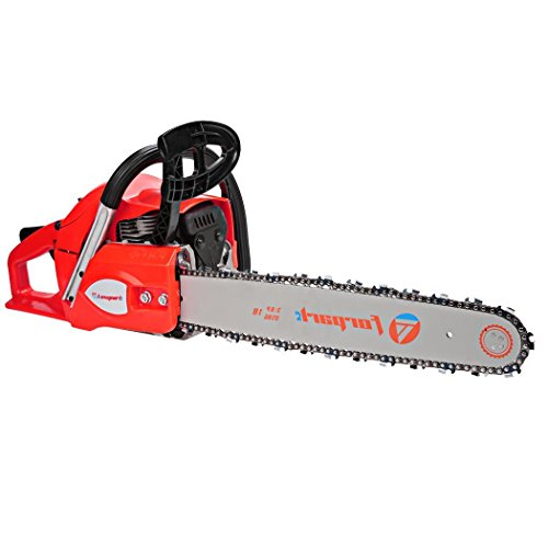 3.5HP Gas Chainsaw 2 Stroke Petrol Tree Saw Blade Tool Kit with Chains [US Stocks] (62CC) by Cosway