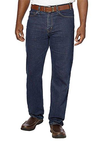 (Kirkland Signature Mens Denim Jeans, New Relaxed Waist (Blue, 30x30))