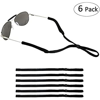 Amazon.com: Black Sports Sunglasses Holder Strap Safety