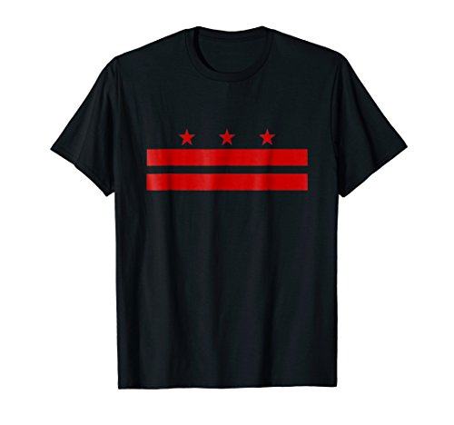 Washington DC District Of Columbia Flag T Shirt