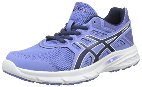 Asics Gel-Excite 5, Zapatillas de Entrenamiento para Mujer Multicolor (Persian Jewel/Indigo Blue/White)
