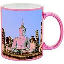 Budda of Thailand Metallic Pink Sparkle Coffee Mug