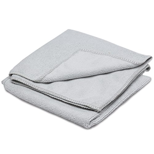 Therapy Stainless Steel Microfiber Cloth (2 Pack) - Great Towel for Cleaning and Polishing all of your Kitchen ()