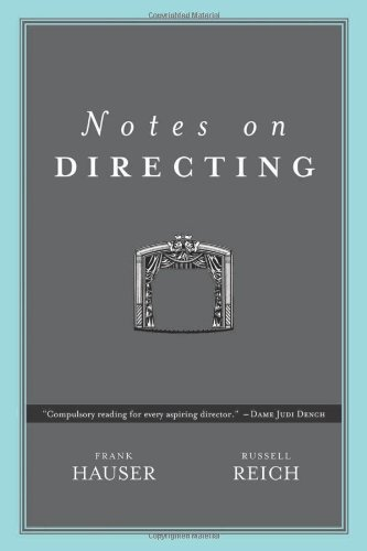 Read Online Notes on Directing: 130 Lessons in Leadership from the Director's Chair ebook